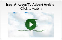 Iraqi Airways 2013 TV Advert
