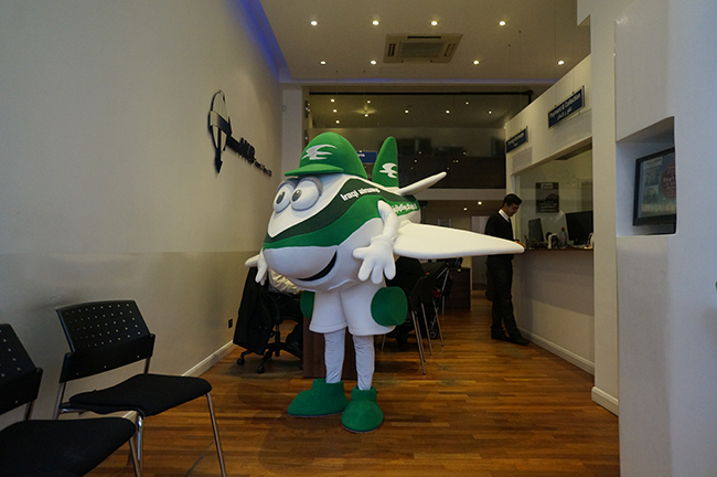 Iraqi Airways Mascot