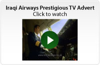 Prestigious Iraqi AIrways TV Advert